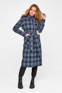 Жіноче пальто «Джета» синього кольору