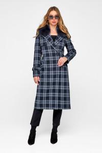 Зимове пальто «Філіс» синього кольору