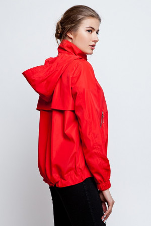 Вітрівка «Морган» червоного кольору