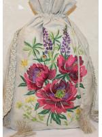 Рюкзак с кистями «Пион»