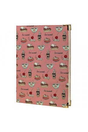 Щоденник «Солодощі» рожевого кольору