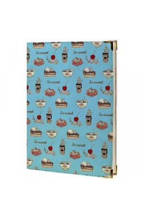 Щоденник «Солодощі» блакитного кольору