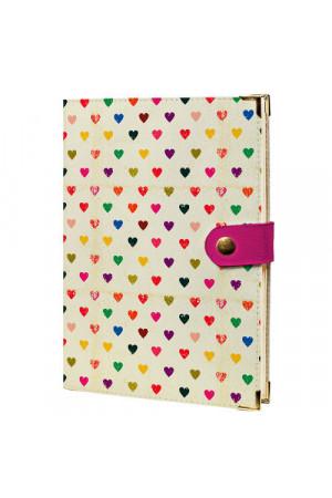 Щоденник «Маленькі серденька» на кнопці