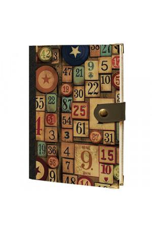 Ежедневник «Числа» на кнопке