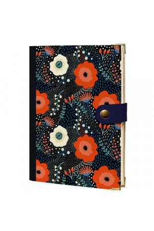 Ежедневник «Цветы Алисы» на кнопке