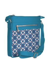 Сумка «Блакитна вишиванка» (Pocket)