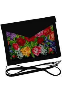 Клатч-конверт «Цветочный бум»