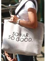 Пляжная сумка «So far. So good»