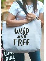 Пляжна сумка «Wild and free»