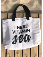 Пляжная сумка «I need vitamin sea»