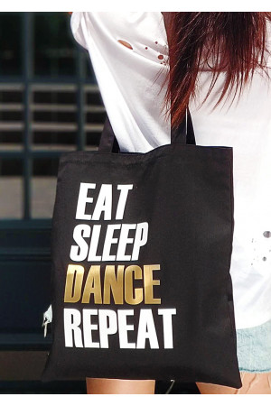 Эко-сумка «Eat sleep dance repeat»