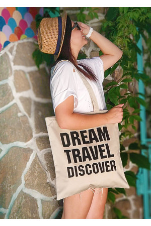 Еко-сумка «Dream travel discover»