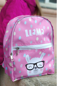 Детский рюкзак «Лама» (Light)