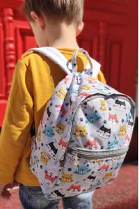 Детский рюкзак «Котики» (Light)
