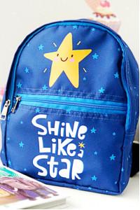 Детский рюкзак «Shine like a star» (Light)