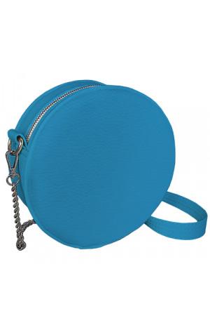 Кругла сумка «Габбі» (Tablet) блакитного кольору