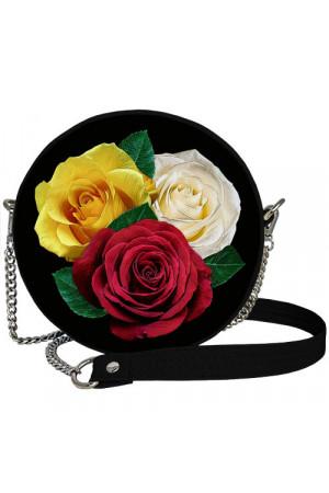 Кругла сумка «Троянди» (Tablet)