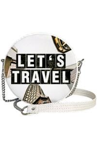 Круглая сумка «Let's travel» (Tablet)
