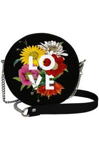Кругла сумка «Love» (Tablet)