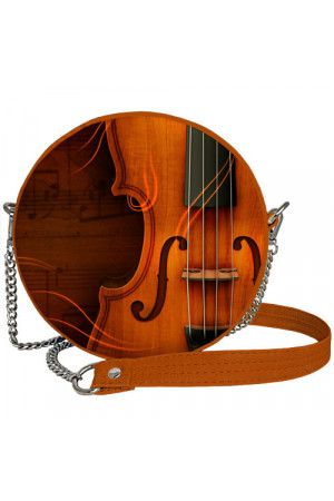 Круглая сумка «Скрипка» (Tablet)