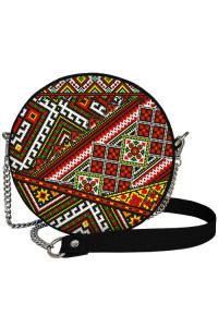 Круглая сумка «Украинский орнамент» (Tablet)