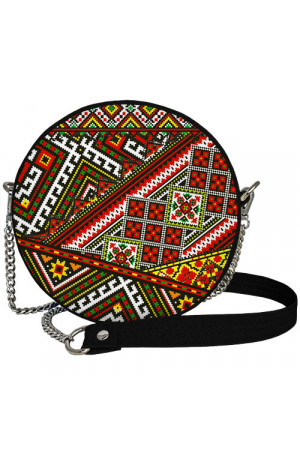 Кругла сумка «Український орнамент» (Tablet)