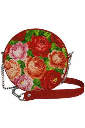 Круглая сумка «Цветочный бум» (Tablet)