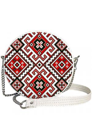 Круглая сумка «Традиционная вышиванка» (Tablet)
