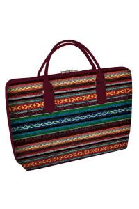 Тканина сумка «Гуцулка» (Саквояж)