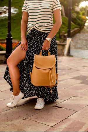 Рюкзак «Оригінальний міні» бежевого кольору