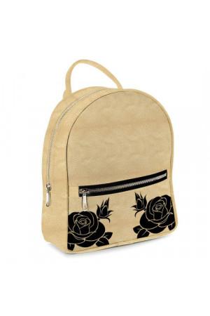 Міський рюкзак «Чорні троянди»
