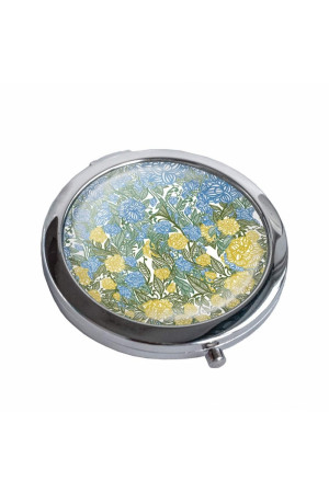 Зеркало карманное «Украина цветущая»