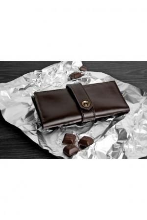 Женское портмоне 3.0 цвета шоколад