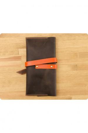 Тревел-кейс «Вояжер» кольорів горіх-апельсин