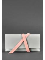 Тревел-кейс «Вояжер» серый с розовым