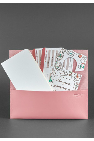 Тревел-кейс «Вояжер» розового цвета