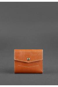 Гаманець «Міні» кольору коньяк