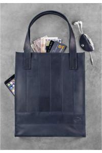 Сумка-шоппер «Бетсі» синього кольору