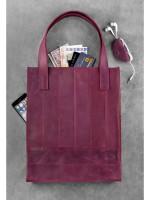 Сумка-шоппер «Бетсі» кольору виноград