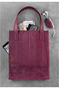 Сумка-шоппер «Бэтси» цвета виноград