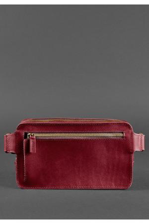 Поясная сумка «Дроп макси» цвета виноград