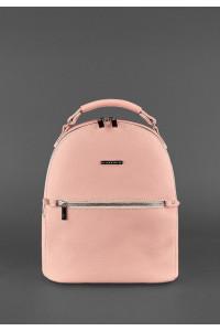 Кожаный рюкзак «Кайли» розового цвета