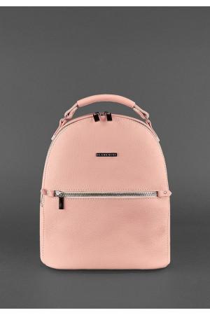 Шкіряний рюкзак «Кайлі» рожевого кольору