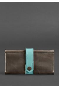 Жіноче портмоне 3.0 кольорів горіх-тіффані