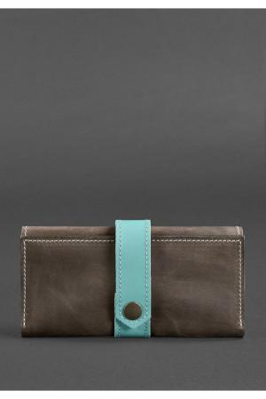 Женское портмоне 3.0 цветов орех-тиффани