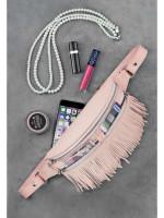 Поясная сумка «Спирит» розового цвета