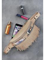 Поясна сумка «Спіріт» бежевого кольору