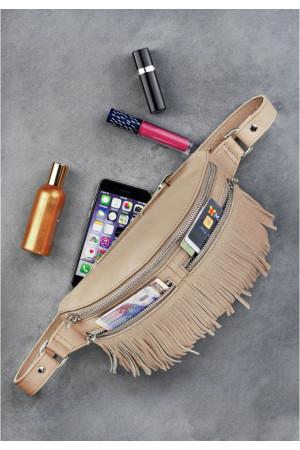 Поясная сумка «Спирит» бежевого цвета