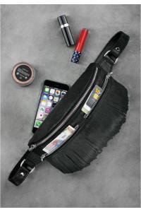 Поясная сумка «Спирит» черного цвета