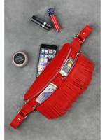 Поясная сумка «Спирит» красного цвета